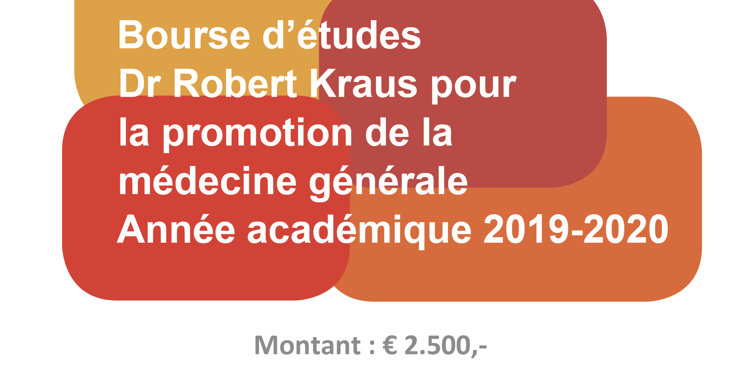 Bourse Dr. Robert Kraus