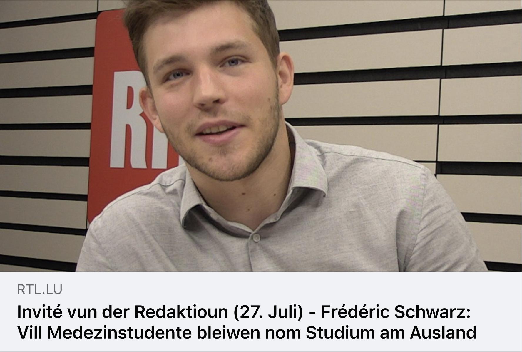 RTL- Invité vun der Redaktioun